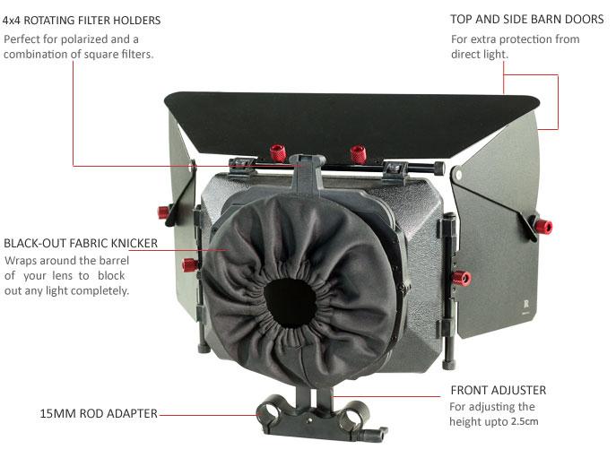 FILMCITY MB-600 MATTE BOX