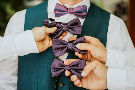 Wedding moments bowties